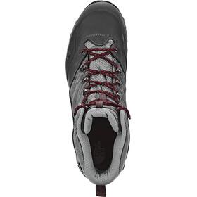 The North Face Hedgehog Trek GTX Shoes Men Dark Shadow Grey/Rudy Red